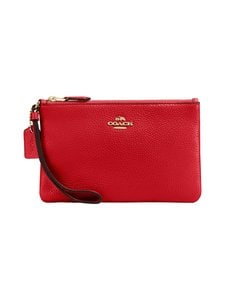 Coach - Nahkalaukku - GD/ELECTRIC RED | Stockmann