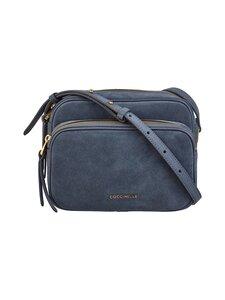 Coccinelle - Lea Suede Handbag Crossover -mokkanahkalaukku - Y75 ASH GREY | Stockmann