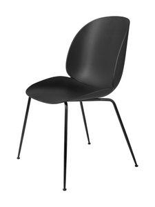 Gubi - Beetle-tuoli - BLACK MATT BASE, BLACK, PLASTIC GLIDES | Stockmann