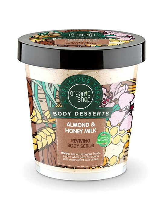 Organic Shop - Body Desserts Almond & Honey Milk Reviving -vartalokuorinta 450 ml - null | Stockmann - photo 1