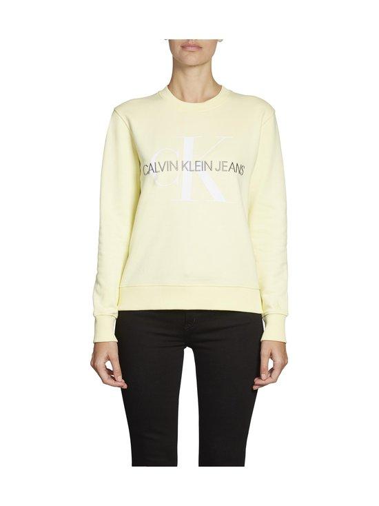 Calvin Klein Jeans - Vegetable Dye Monogram Crew Neck -collegepaita - ZHH MIMOSA YELLOW | Stockmann - photo 3