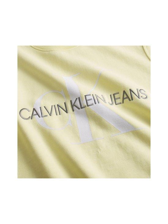 Calvin Klein Jeans - Vegetable Dye Monogram Crew Neck -collegepaita - ZHH MIMOSA YELLOW | Stockmann - photo 5