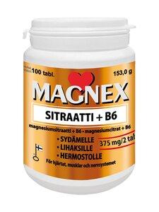 Vitabalans - Magnex Sitraatti 375 mg + B6 -Magnesiumsitraatti-B6-Ravintolisä, 100 Tablettia | Stockmann