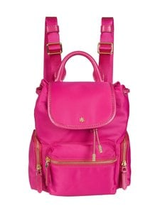 Lauren Ralph Lauren - Keely 17 Backpack Small -reppu - 3EZ3 FUCHSIA | Stockmann