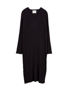 ARELA - Tamuna Merino Kaftan Dress -merinovillamekko - BLACK   Stockmann