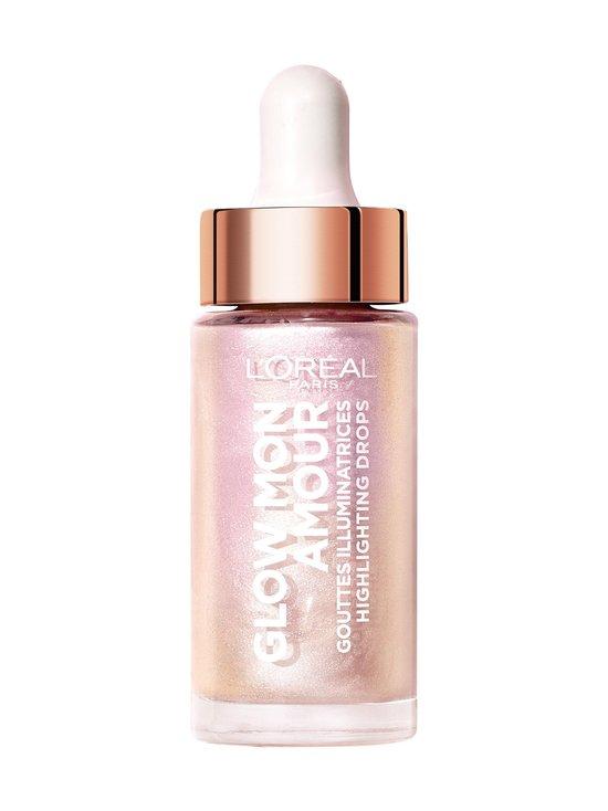 L'Oréal Paris - Glow Mon Amour Highlighter Drops -korostustipat 15 ml - 05 ICOCONIC GLOW | Stockmann - photo 1