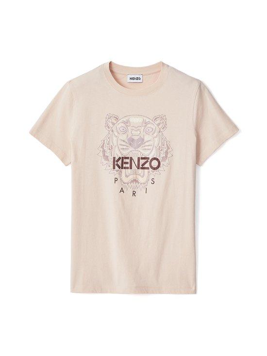 Kenzo - Classic T-Shirt Tiger -paita - 34 - LIGHT SINGLE JERSEY CLASSIC TI - FADED PINK | Stockmann - photo 1