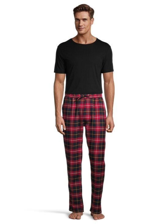 Superdry - Laundry Flannel -pyjamahousut - 4AC HIGHLANDER CHECK RED | Stockmann - photo 2