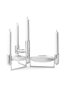 Georg Jensen - Tunes Centerpiece -kynttilänjalka - STAINLESS STEEL | Stockmann