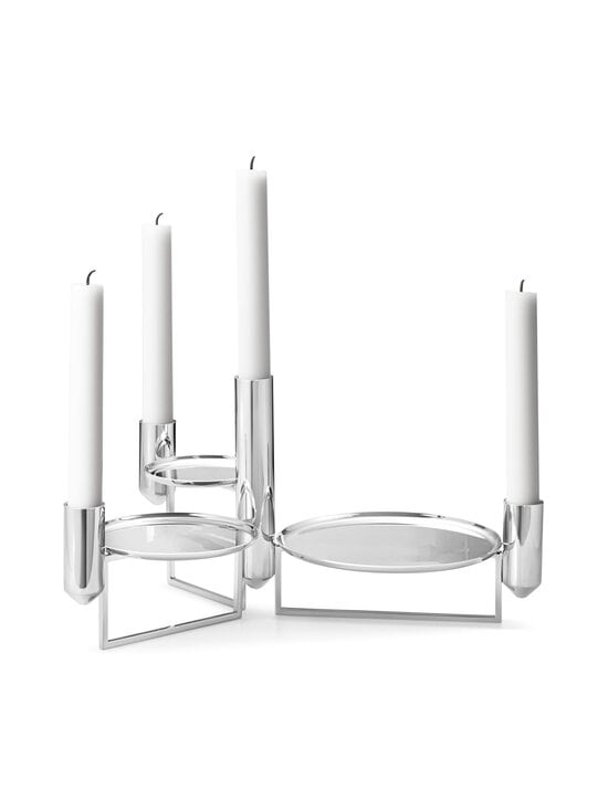 Georg Jensen - Tunes Centerpiece -kynttilänjalka - STAINLESS STEEL | Stockmann - photo 1