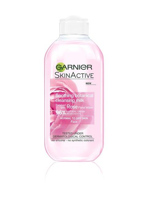 Skin Active Rose -rauhoittava puhdistusmaito 200 ml