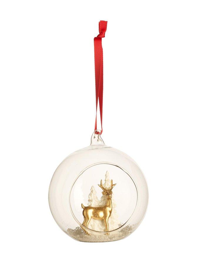 Christmas Toys 2019 Deer Tree -joulukoriste 12 cm