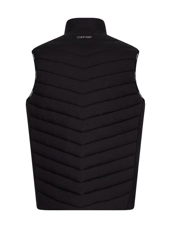 Calvin Klein Menswear - Crinkle Nylon Vest -kevyttoppaliivi - BEH CK BLACK | Stockmann - photo 2