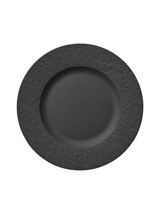Villeroy & Boch - Manufacture Rock -lautanen 27 cm - BLACK | Stockmann - photo 1
