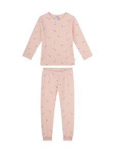 Sanetta - Kids Girl Bird Retro Romance -pyjama - 38144 ROSE | Stockmann