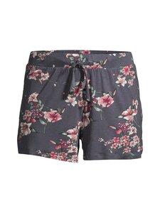 NOOM loungewear - Lena-pyjamashortsit - DK.GREY PRINT COMBO | Stockmann