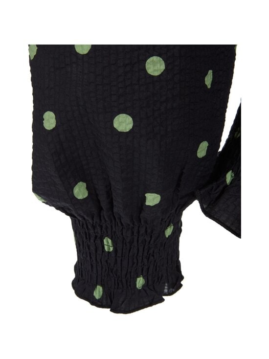 Neo Noir - Liba Mega Dot Blouse -pusero - 150 GREEN | Stockmann - photo 3