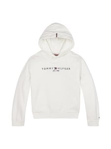 Tommy Hilfiger - Essential Hooded Sweatshirt -huppari - YBR WHITE | Stockmann