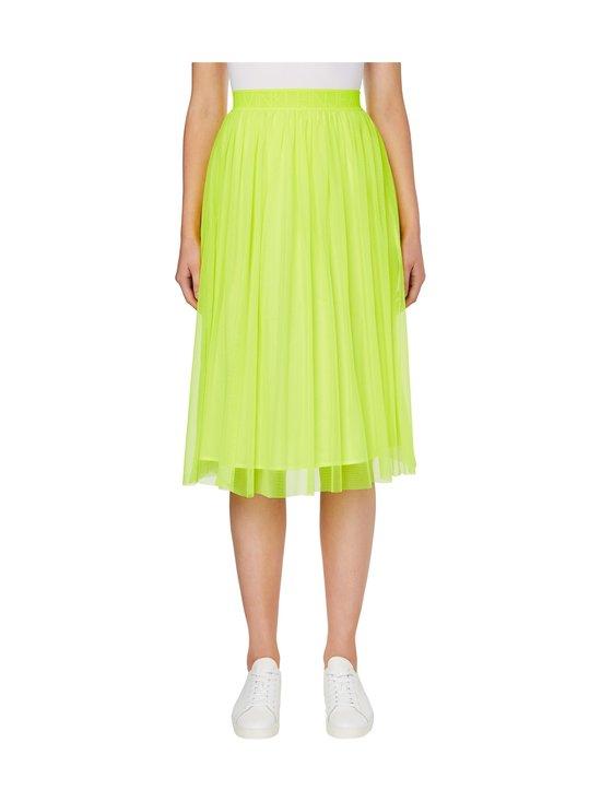 Calvin Klein Jeans - Double Layer Mesh Skirt -hame - ZAA SAFETY YELLOW | Stockmann - photo 2