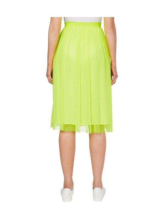 Calvin Klein Jeans - Double Layer Mesh Skirt -hame - ZAA SAFETY YELLOW | Stockmann - photo 3