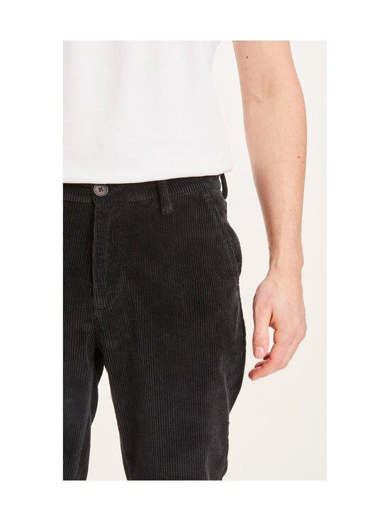 Knowledge Cotton Apparel - CHUCK-housut - 1300 BLACK JET | Stockmann - photo 4