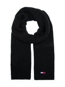 Tommy Jeans - Tjm Basic Flag Rib -huivi - BDS BLACK | Stockmann