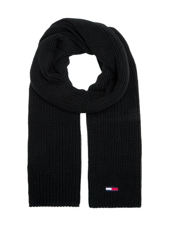 Tommy Jeans - Tjm Basic Flag Rib -huivi - BDS BLACK | Stockmann - photo 1
