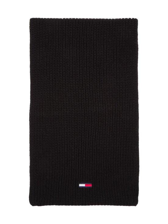 Tommy Jeans - Tjm Basic Flag Rib -huivi - BDS BLACK | Stockmann - photo 2