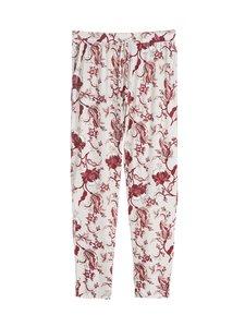 NOOM loungewear - Sade-pyjamahousut - OATMEAL/ROSE PRINT | Stockmann