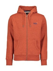 Superdry - Orange Label Classic Zip Thru Hood -huppari - UR5 ARIZONA ORANGE GRIT | Stockmann