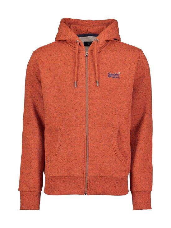 Superdry - Orange Label Classic Zip Thru Hood -huppari - UR5 ARIZONA ORANGE GRIT | Stockmann - photo 1
