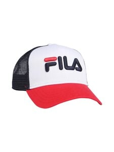 Fila - Trucker Cap -lippalakki - I22 TRUE RED-BRIGHT WHITE-BLACK   Stockmann