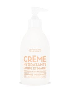 Compagnie de Provence - Sparkling Citrus Hand And Body Lotion -kosteusvoide 300 ml | Stockmann
