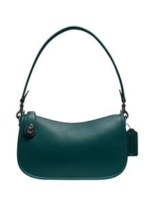 Coach - Swinger Bag -nahkalaukku - V5FOR V5/FOREST | Stockmann