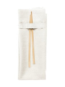 The Organic Company - Napkin-lautasliina 40 x 50 cm - WHITE (VALKOINEN) | Stockmann