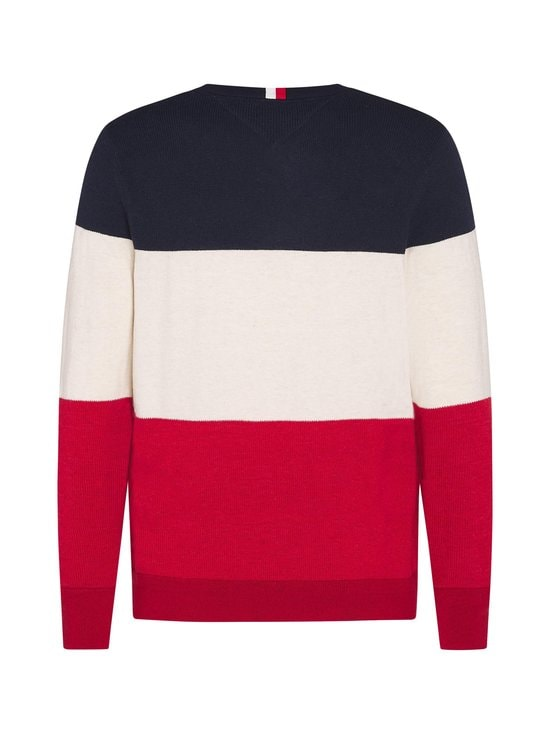 Tommy Hilfiger - Color Block -collegepaita - XMP ARIZONA RED | Stockmann - photo 2