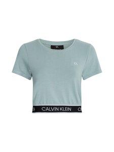 Calvin Klein Performance - Mesh Back Cropp -paita - GREEN | Stockmann