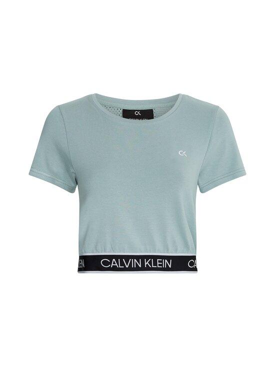 Calvin Klein Performance - Mesh Back Cropp -paita - GREEN | Stockmann - photo 1