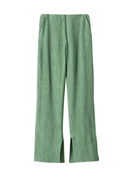 Nanushka - Tabbie Pants -housut - GREEN | Stockmann - photo 1