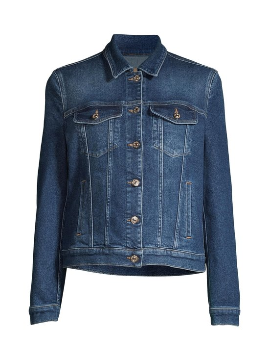 7 For All Mankind - Modern Trucker Luxe Vintage Pacific Grove -farkkutakki - MID BLUE | Stockmann - photo 1