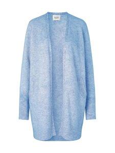 SECOND FEMALE - Brook Knit New Pocket Cape -neuletakki - 5028 BRUNNERA BLUE | Stockmann