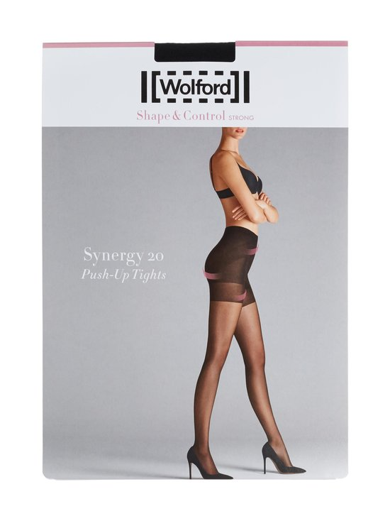 Wolford - Synergy 20 den Push-Up -sukkahousut - BLACK | Stockmann - photo 1