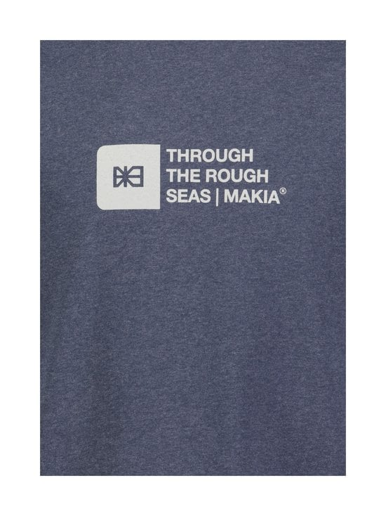 Makia - Flint T-Shirt -paita - 640 BLUE | Stockmann - photo 2
