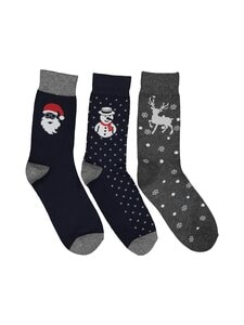 Jack & Jones - JacClaus-sukat 3-pack - null | Stockmann