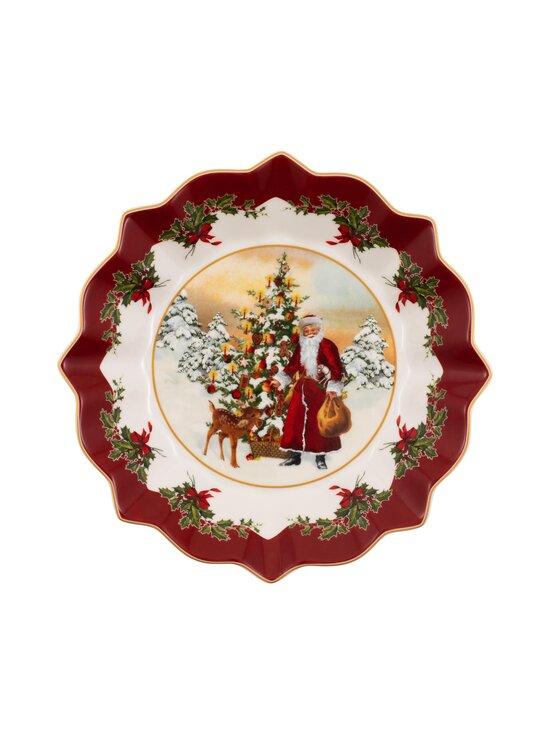 Villeroy & Boch - Toy's Fantasy Santa and Tree Large Bowl -tarjoilukulho 25 cm - VALKOINEN/PUNAINEN | Stockmann - photo 1