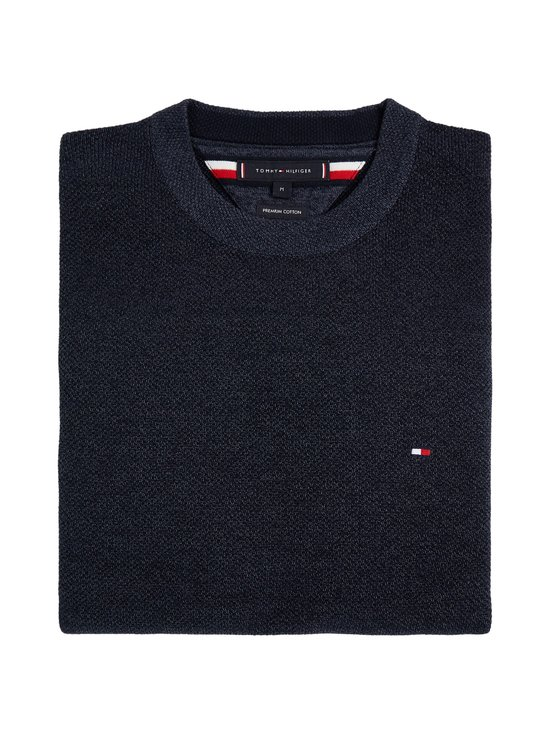 Tommy Hilfiger - Mouline Structure Crew Neck -paita - DW5 DESERT SKY | Stockmann - photo 3