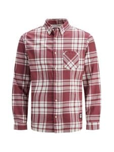 Jack & Jones - JorLayton-kauluspaita - HAWTHORN ROSE CHECKS:/COMFORT | Stockmann
