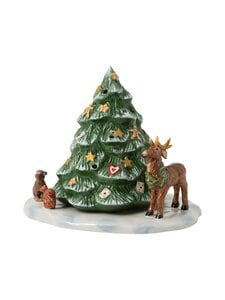 Villeroy & Boch - Christmas Toys Christmas Tree With Forest Animals -joulukoriste - MULTICO | Stockmann