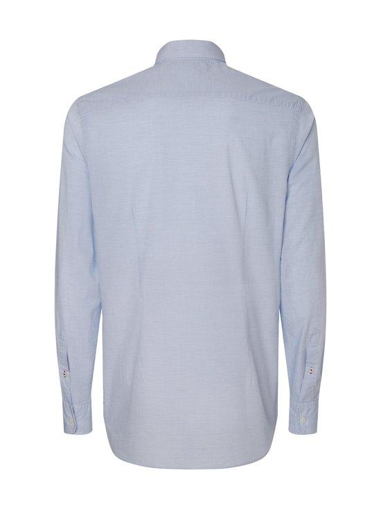 Slim Small Slub Stripe Shirt -kauluspaita