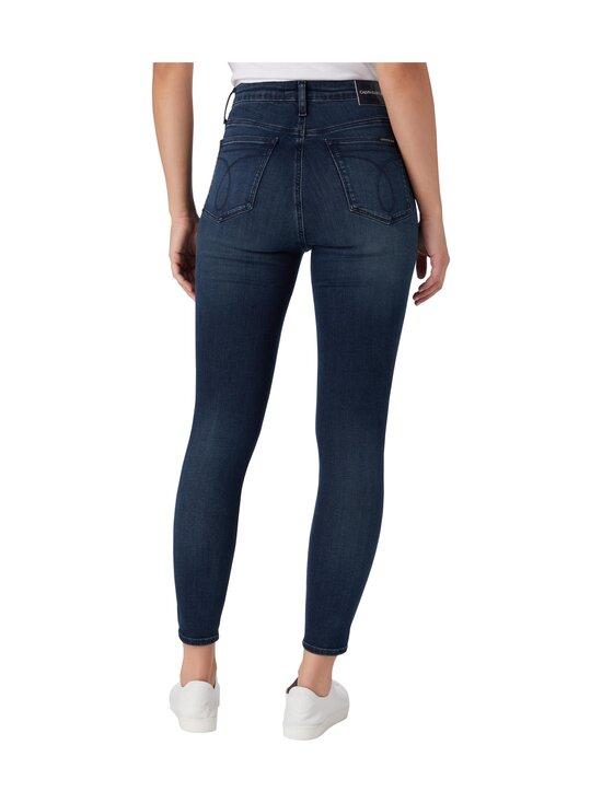 Calvin Klein Jeans - High Rise Super Skinny Ankle -farkut - 1BJ DENIM DARK | Stockmann - photo 2